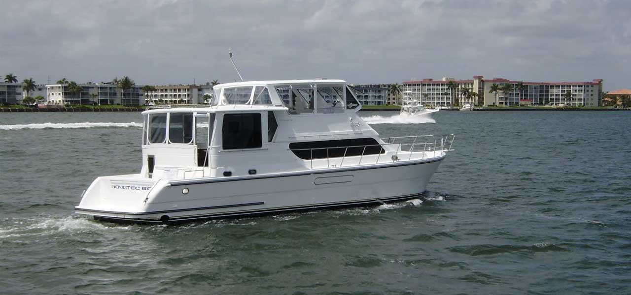 Yacht Running Shot